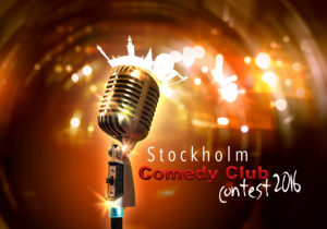 Stockholm Comedy Contest banner