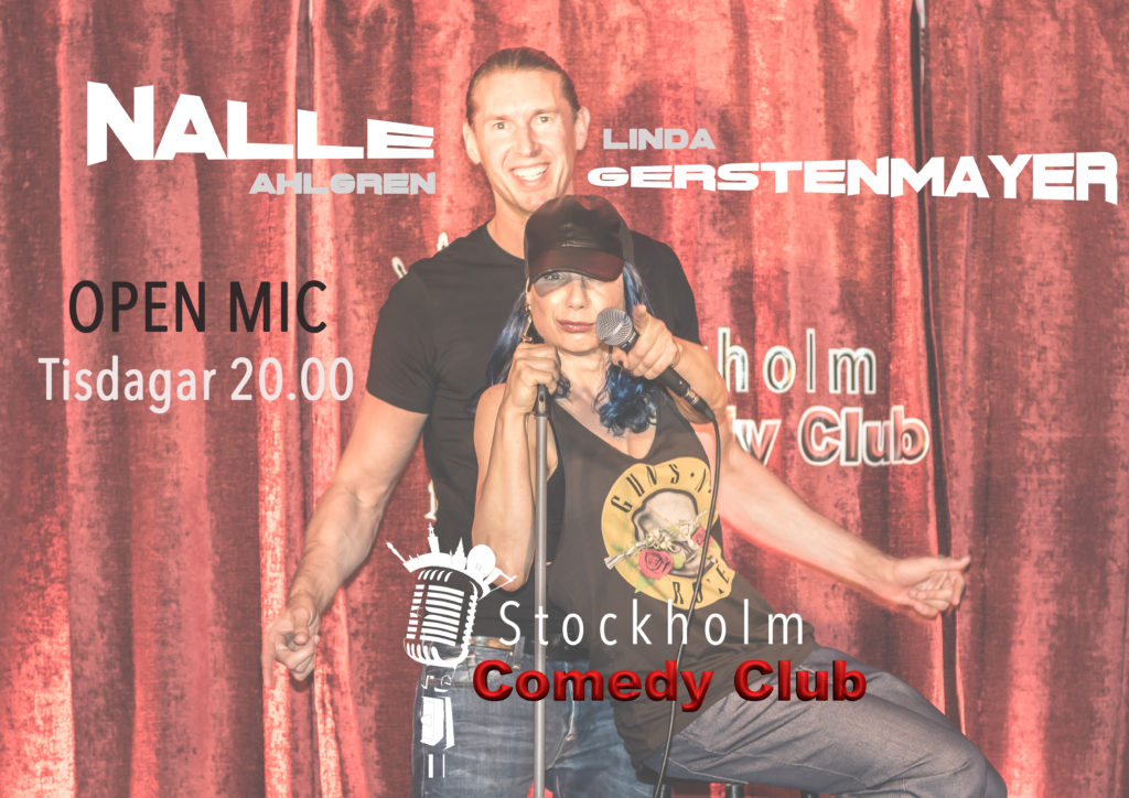 open mic stockholm comedy club