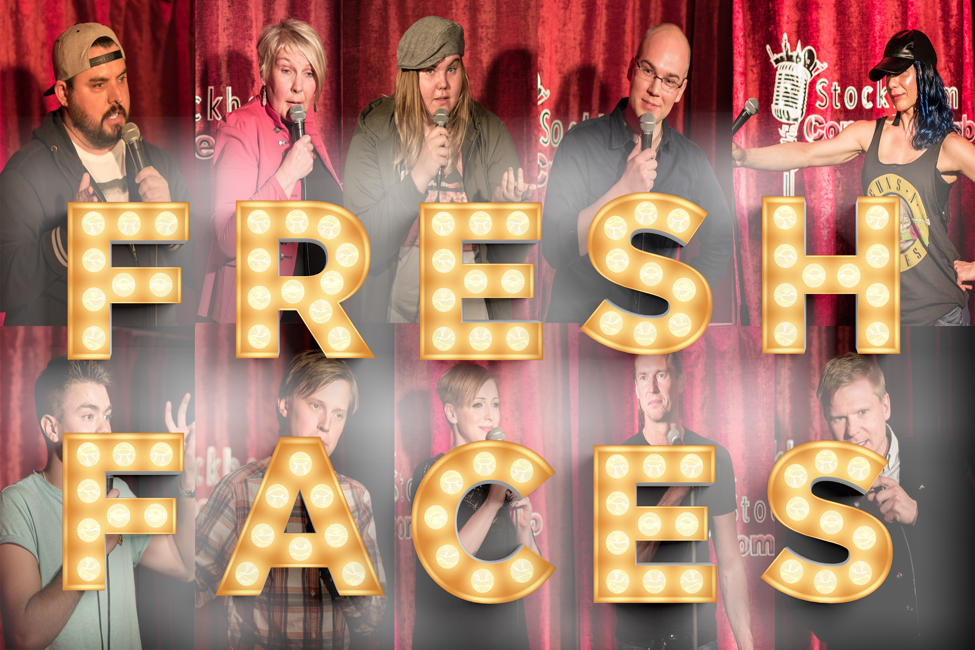 stockholm comedy club fresh faces