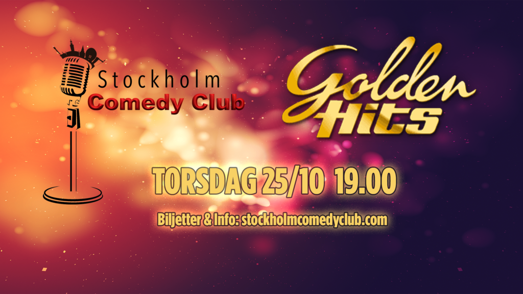 Stockholm Comedy Club Golden Hits